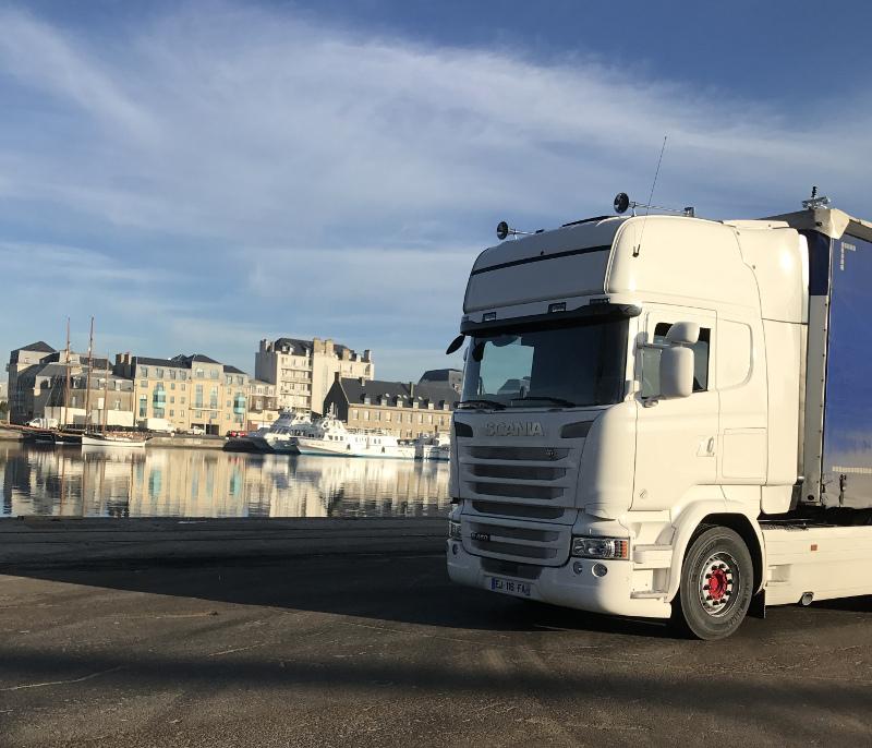 Les Transports Benoit Gros spécialistes de la Bretagne